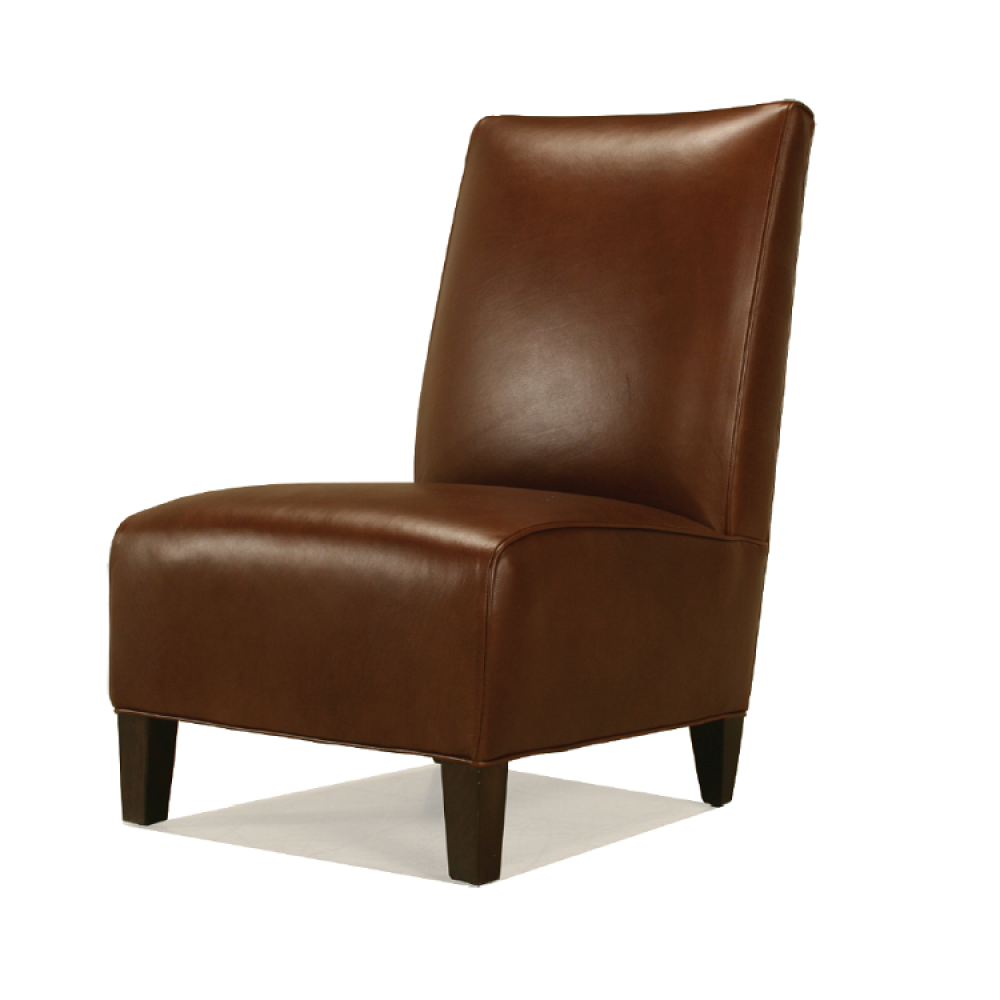 McCreary Leather Armless Chair