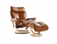 Ekornes Stressless Magic Chair and Ottoman