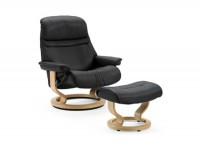 Ekornes Stressless Sunrise Chair and Ottoman