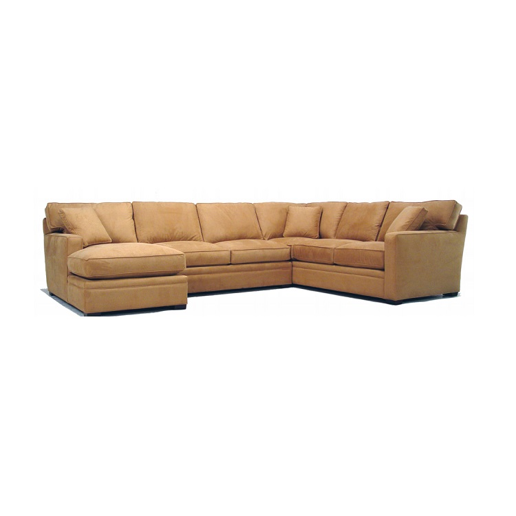 Mccreary furniture sectional at decorum furniture for Chaise 5 5 designers