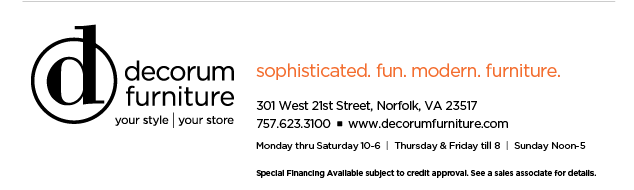 Decorum Furniture Floor Sample Sale