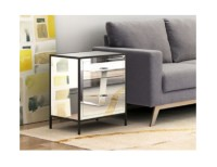 Zuo Upton End Table Mirror