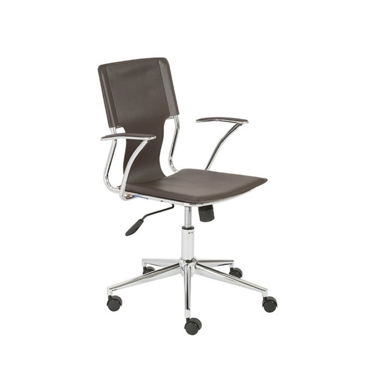 Eurostyle Terry fice Chair Brown Black White Brown